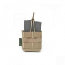 Warrior Assault Systems Single open Mag Pouch SR25, SCAR-H, M14, G3, FAL Coyote Tan